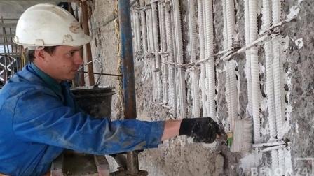 Новшества бетона шамотно цементного раствора